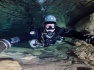 Caves of Lot cave diving in December Fra...